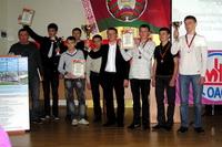 Награждение картингистов 2011
