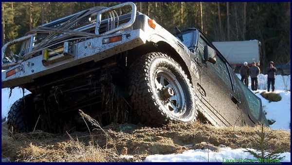 1-й этап Land Rover Brothers Chalenge 2011