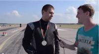 Интервью с гонщиками