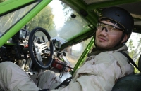 Автогонщик Виктор Янукович